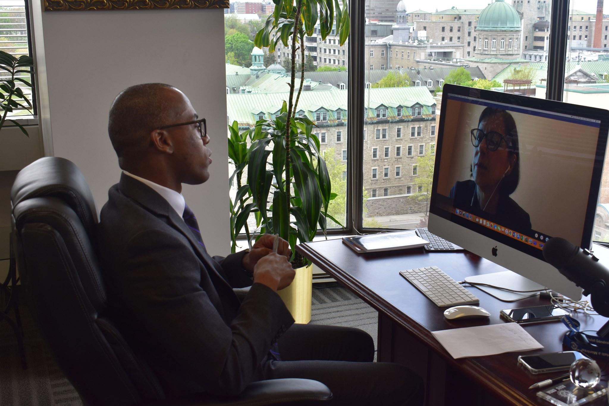 Réunion avec la Ministre de l'Enseignement supérieur du Québec